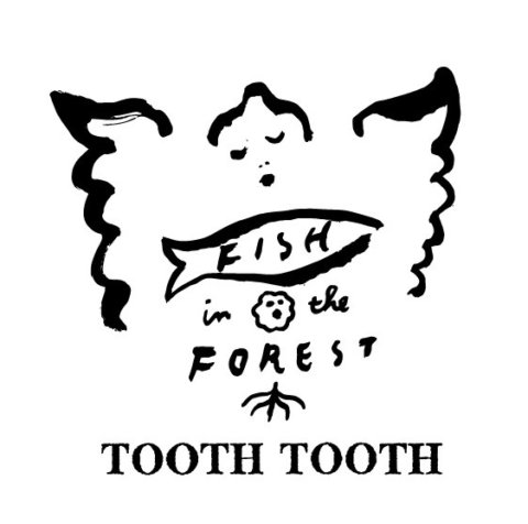 TOOTHTOOTH FISH IN THE FOREST