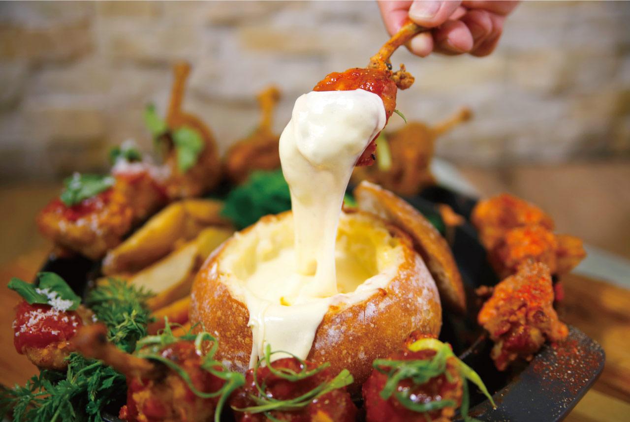 パネチキン☆4つの味をチーズに絡めて、おいしく楽しく盛り上がる春♪<br><br>/C+(ツェープラス)