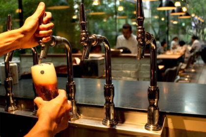 """今しか味わえない!《COEDO数量限定シーズナルビール》2種が、3月21日(木)より、丸の内""""東京ビアホール&ビアテラス14""""に登場!<br><br>/東京ビアホール + ビアテラス14"""