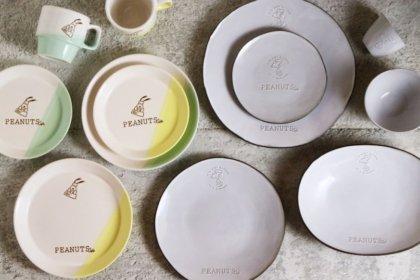 PEANUTS Cafeオリジナルのテーブルウェアが、「PEANUTS Cafe オンラインショップ」で3月26日(火)販売開始!<br><br>/PEANUTS Cafe