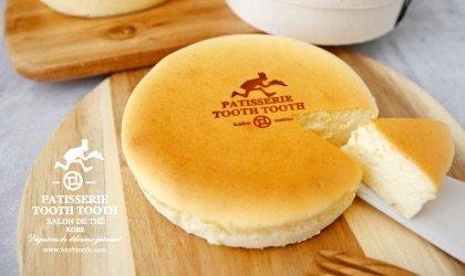 洋菓子のまち神戸からのおくりもの「シャポードフロマージュ」<br><br>/PATISSERIE TOOTH TOOTH