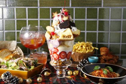 """まるで""""クリスマスツリー""""!!メガサンデーで、クリスマスパーティーが楽しめる限定プラン登場!<br><br>/ニューラフレア"""