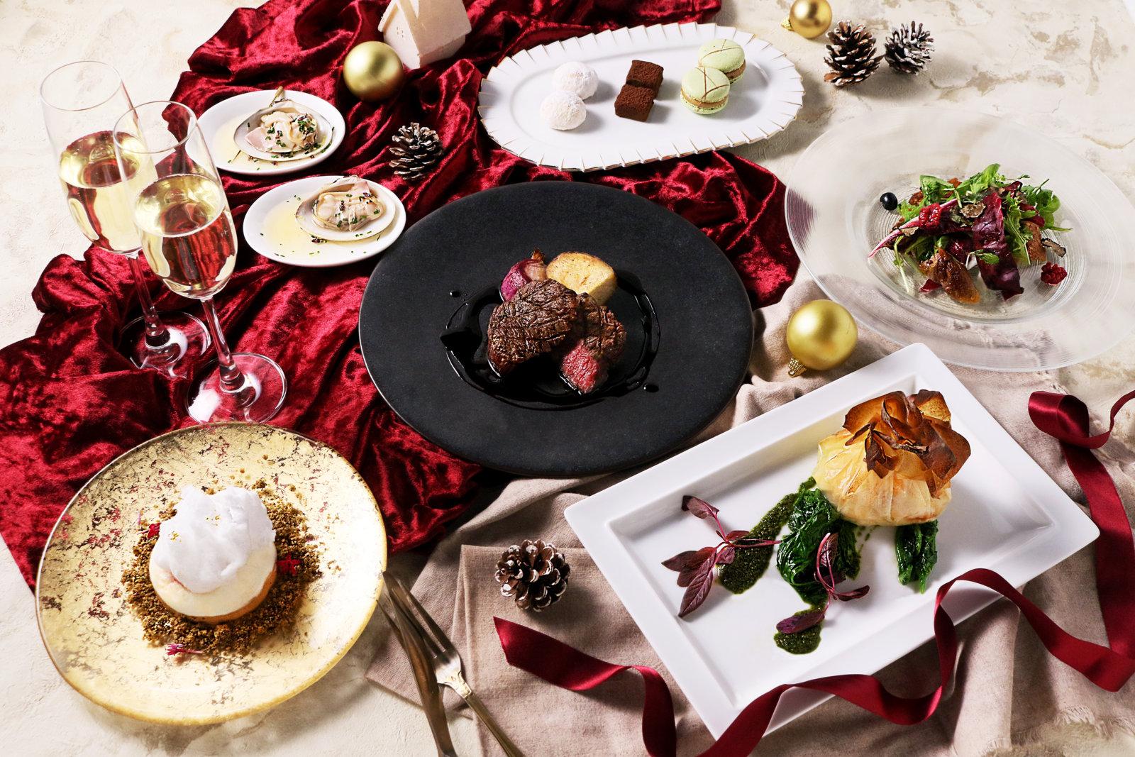 """聖夜を彩るクリスマス限定ディナー『Baru&Bistro*musiQ """"mood board""""』で至福のひとときを。《2019年12月23日(月)~12月25日(水)》"""