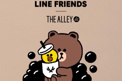 「THE ALLEY(ジ アレイ)」「LINE FRIENDS(ラインフレンズ)」コラボドリンク全3種が渋谷道玄坂店・表参道店の2店舗で11/22(金)に先行販売開始!