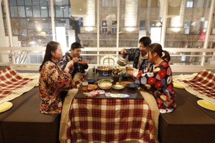 カレーおでんが楽しめるPOPUP SHOP『こたつとおでん』が神戸旧居留地のカフェ「ニューラフレア」の2階にオープン!<br><br>/ニューラフレア