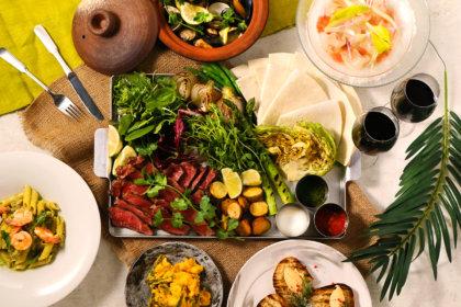 春野菜のトルティーヤや魚介の旨味たっぷりブイヤベースを楽しむ!『シロノニワ』春の歓送迎会プラン、2/24(月)より提供スタート! <br><br>/シロノニワ