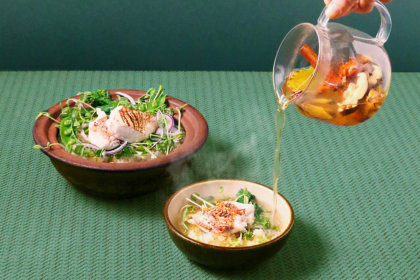 """恵比寿の春は、""""鯛と春野菜""""。スパイス&ハーブで自分好みにアレンジ!『シロノニワ』春のおすすめメニュー、3/1(日)スタート! <br><br>/シロノニワ"""
