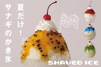 暑い夏にぴったり!色鮮やかな4種類のかき氷とチョコミントスイーツ、『サナギ 新宿』に7/10(金)より期間限定で登場!<br><br>/サナギ 新宿