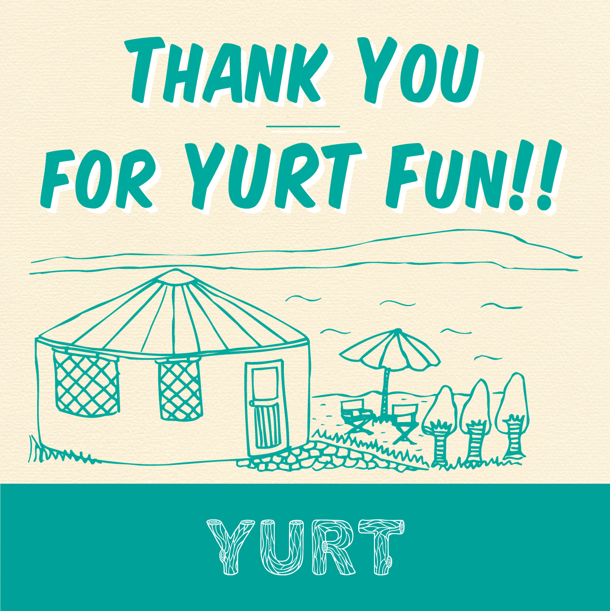 Thank you for YURT FUN ! 10年間の『ありがとう』をお届けします!<br><br>神戸・旧居留地のカフェ「YURT神戸店」は、10月26日をもって閉店します。