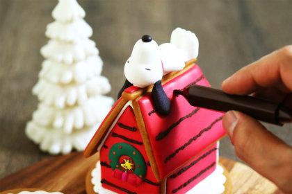 """クリスマスに""""スヌーピーとウッドストックのヘクセンハウスを作ろう""""ワークショップが開催!<br><br>/PEANUTS Cafe 中目黒、PEANUTS DINER 横浜"""