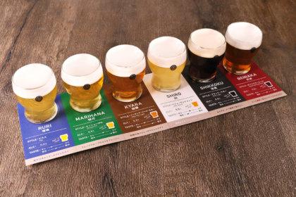 """樽生COEDOビール6種類を飲み比べ!""""COEDOビール テイスティングセット""""、『東京ビアホール&ビアテラス14』より12/19(土)提供スタート!<br><br>/東京ビアホール&ビアテラス14"""