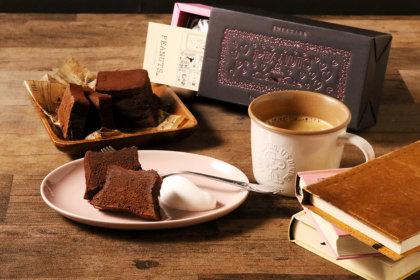 バレンタインギフトにぴったり!ハート溢れるスヌーピーのボックスに入ったチョコレートブラウニーが「PEANUTS Cafe オンラインショップ」で先行販売!<br><br>/PEANUTS Cafe、PEANUTS DINER