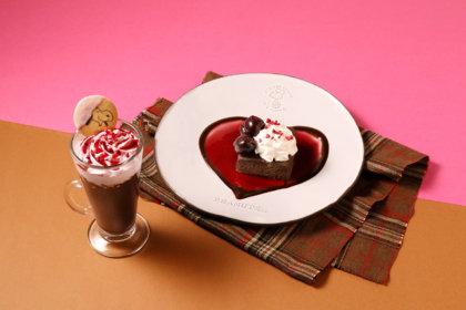 スヌーピーの飼い主、チャーリー・ブラウンの甘い恋心を描いたデザートやホットドリンクが2/13から期間限定で登場!<br><br>/PEANUTS Cafe、PEANUTS DINER