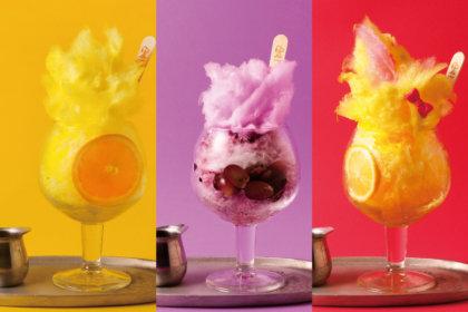 スヌーピーの親友、ウッドストックをモチーフにしたかき氷が「PEANUTS Cafe」に登場!今年は新メンバーが加わって更にバージョンアップ!<br><br>/PEANUTS Cafe,PEANUTS DINER