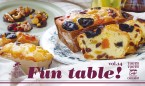 親子料理教室『Fun table!vol.14』のお知らせ