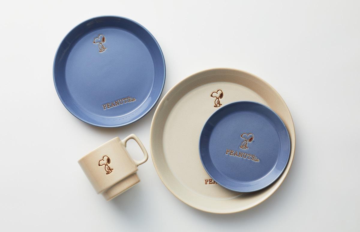 「PEANUTS Cafe」オリジナル食器