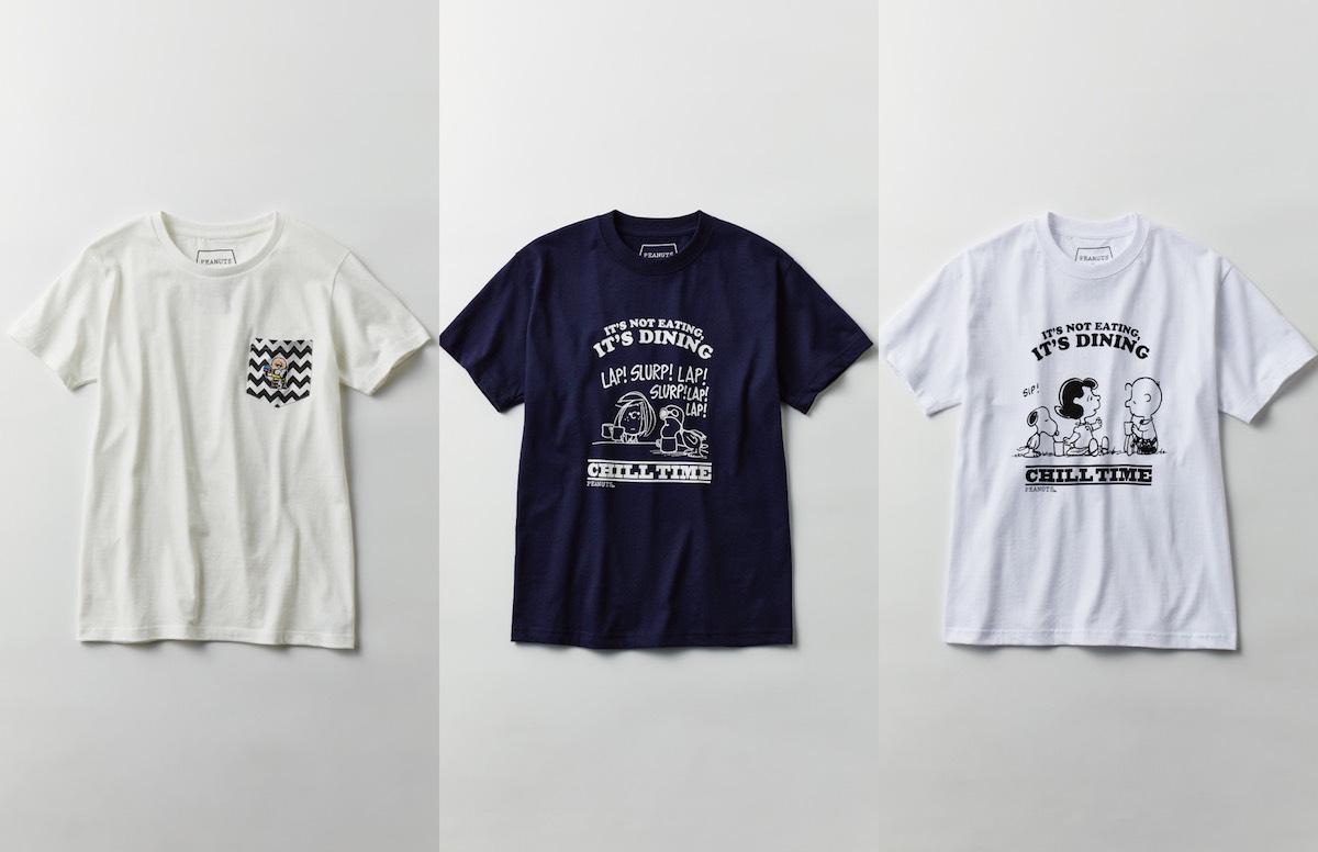 「PEANUTS Cafe」オリジナルTシャツ