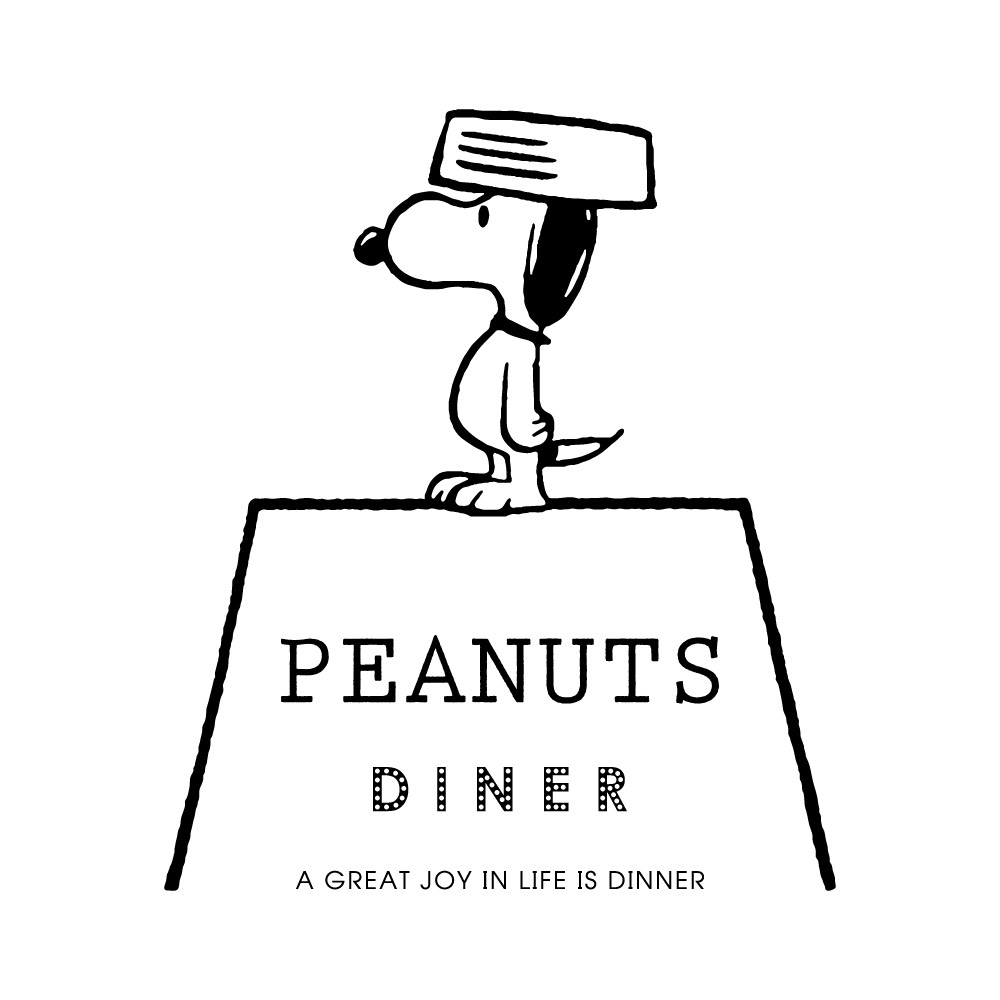 PEANUTS DINER ロゴ