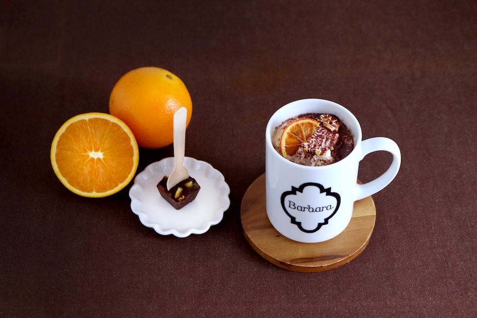 オレンジ ショコラ