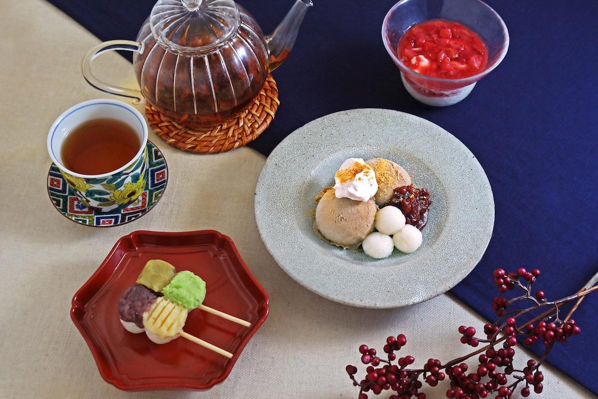 2018年11月29日にオープンの「こなな 下北沢店」で提供する甘味メニュー